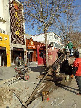 非开挖钻机施工在供热管道施工实践