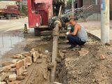 非开挖钻机施工现场
