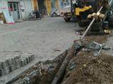 非开挖钻机施工顺利进行